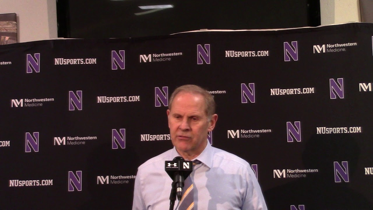 Video: John Beilein, Moritz Wagner talk loss at Northwestern