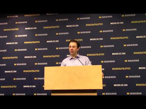 Video: Richard Pitino talks loss at Michigan