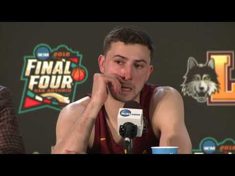 Video: Loyola press conference after Final Four loss