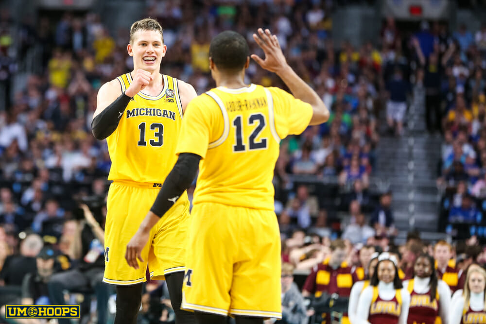 Michigan 69, Loyola 57-26