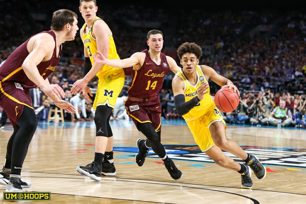 Michigan 69, Loyola 57-19
