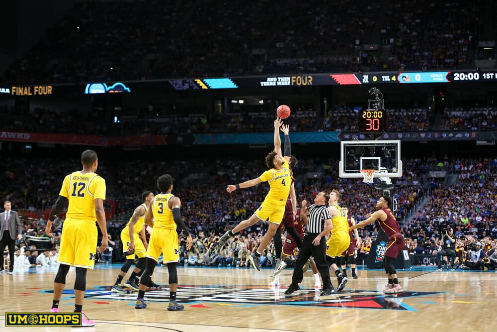 Michigan 69, Loyola 57-4