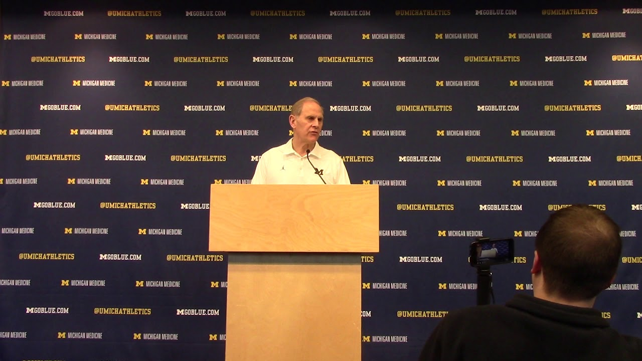 Video: John Beilein, Michigan players preview Selection Sunday
