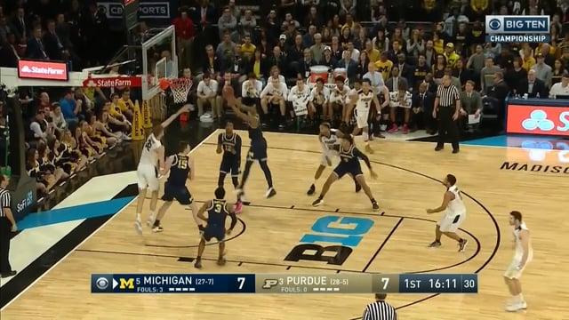 Five Key Plays: Michigan 75, Purdue 66