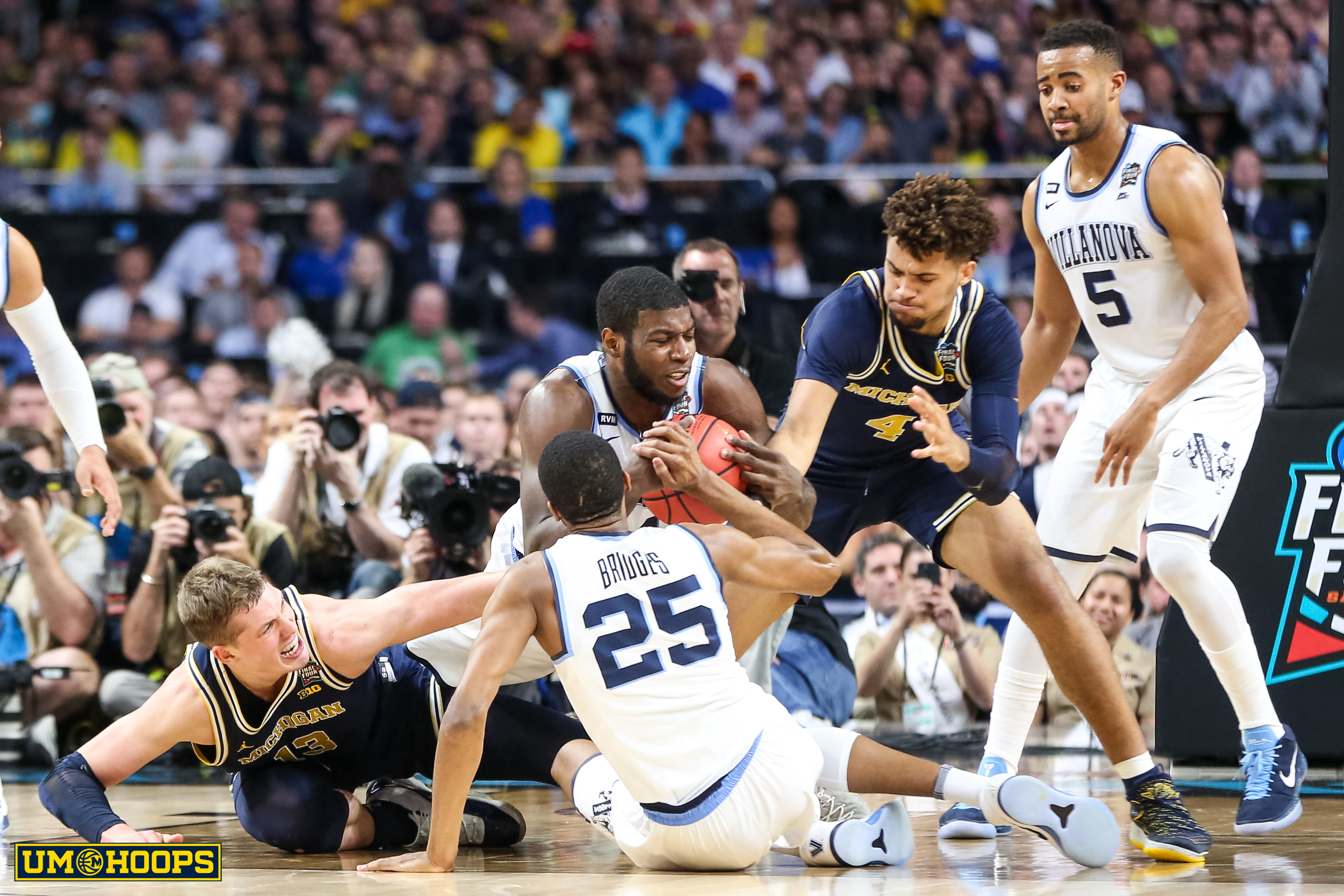 Villanova 79, Michigan 62-13
