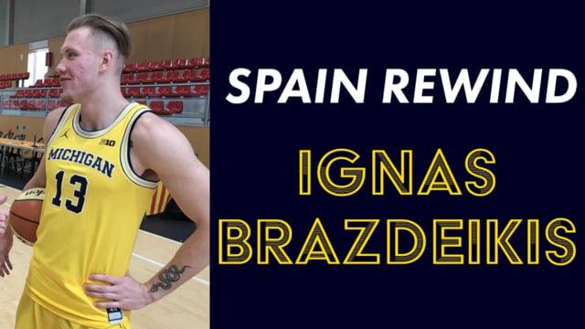 Spain Rewind: Ignas Brazdeikis