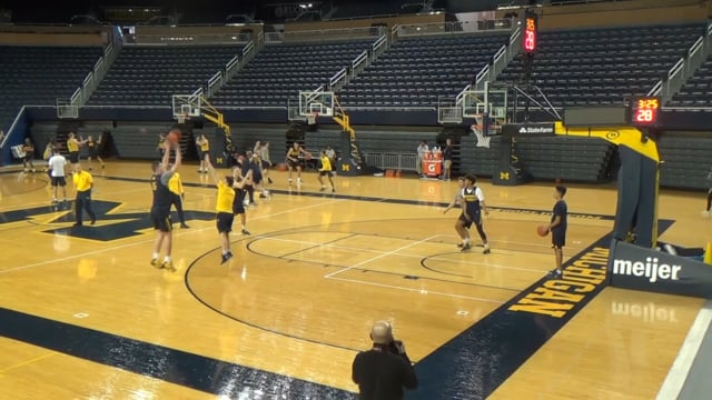 Different but the same, Michigan looking to find the right offensive mix