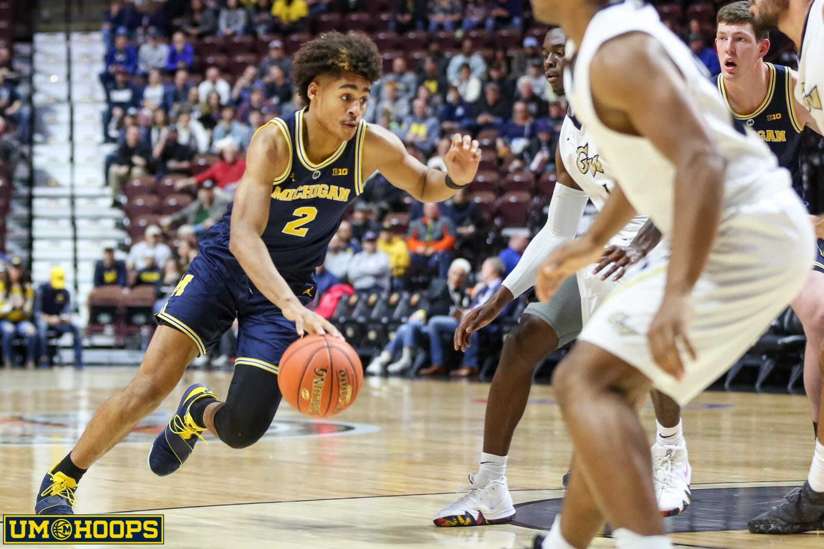 Michigan 84, George Washington 61-11