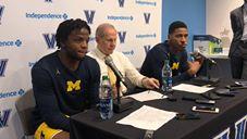 Video: John Beilein, Zavier Simpson and Charles Matthews recap win at Villanova