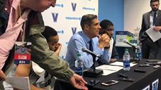 Video: Jay Wright recaps loss to Michigan