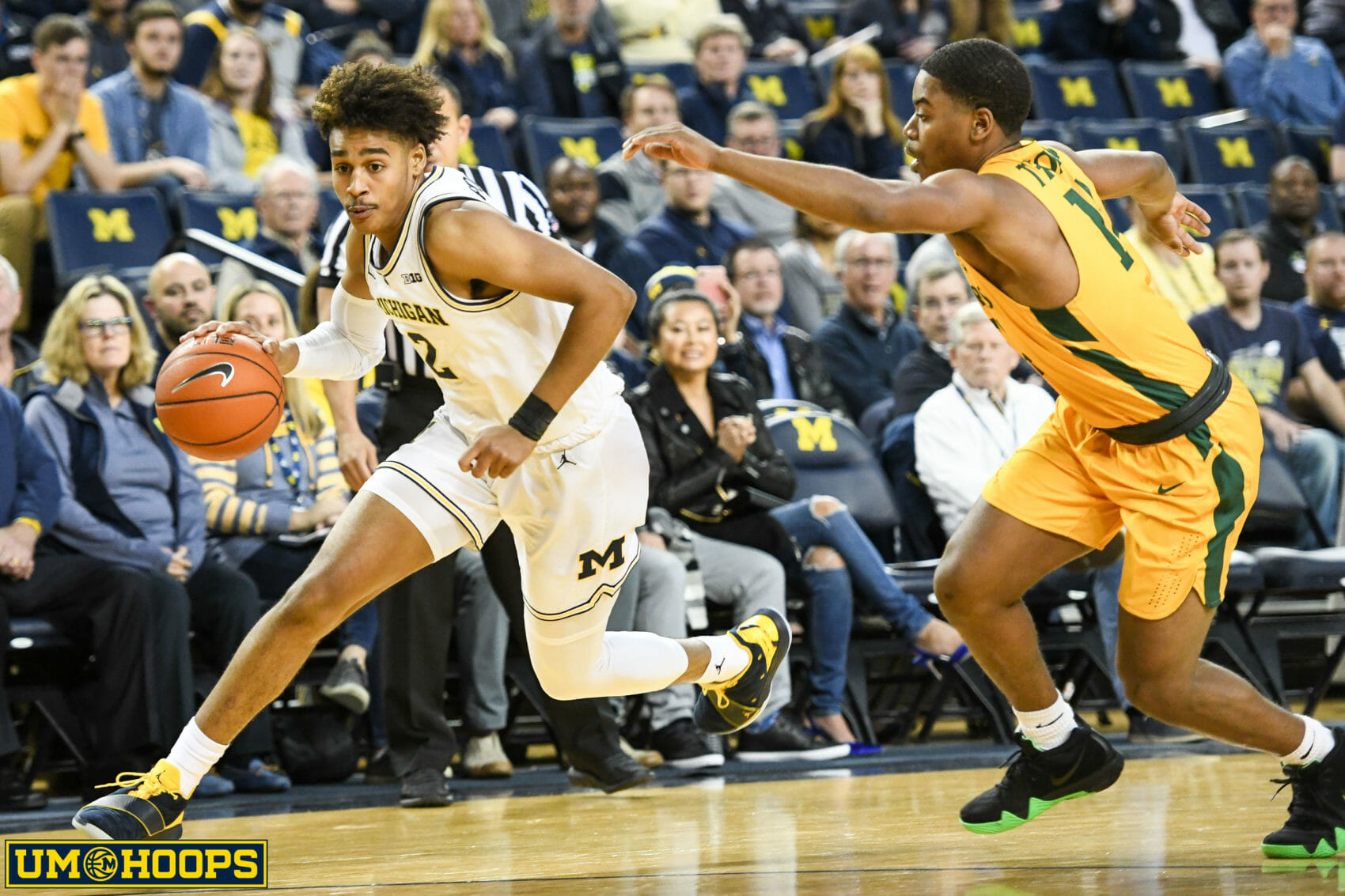Michigan 63, Norfolk State 44-5