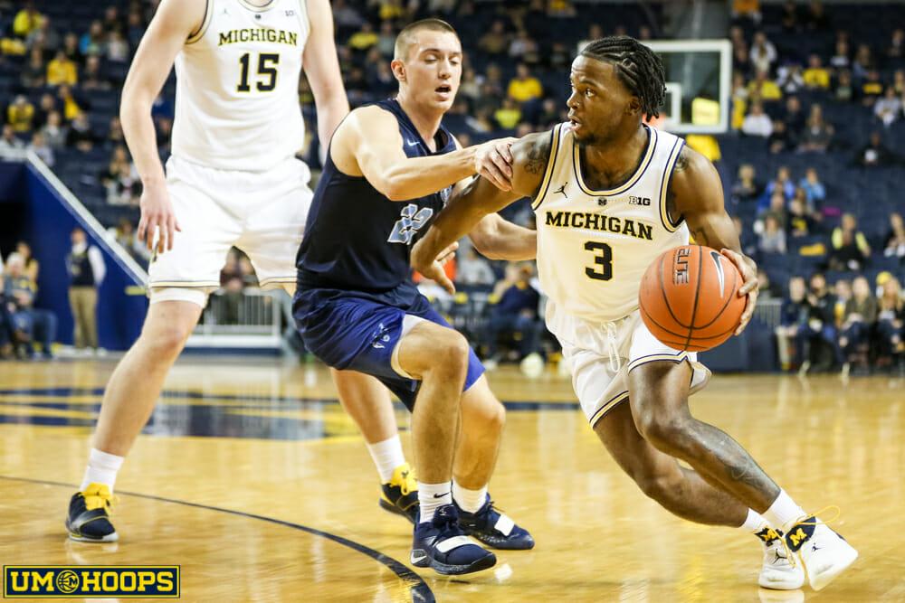 Michigan 90, Northwood 58-3