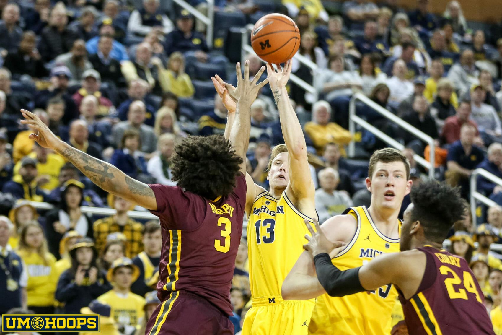Big Ten Tournament: Michigan Vs. Minnesota Preview