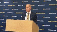 Video: John Beilein, Ignas Brazdeikis at Michigan banquet