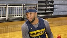 Video: Franz Wagner, Isaiah Livers and Zavier Simpson at Michigan Media Day