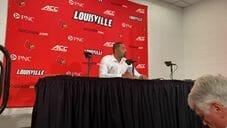 Video: Juwan Howard, Jon Teske and Isaiah Livers talk loss at Louisville