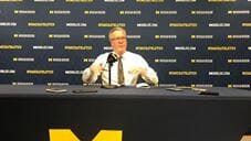 Video: Fran McCaffery after loss at Michigan