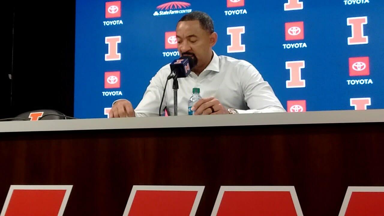 Video: Juwan Howard, Michigan players talk loss at Illinois