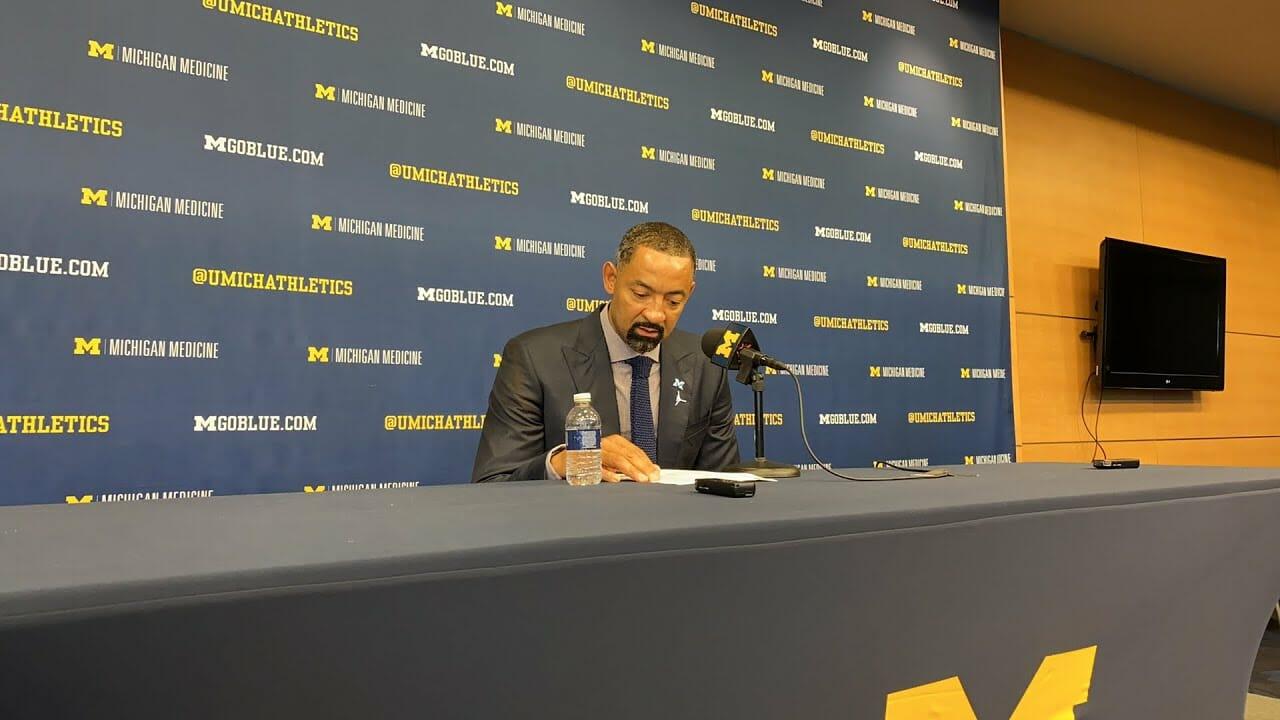 Video: Juwan Howard, Cole Bajema recap win over Presbyterian