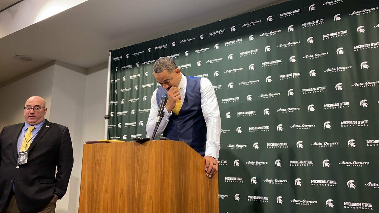 Video: Juwan Howard recaps loss at Michigan State