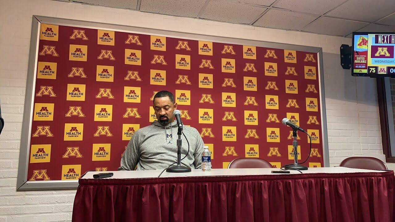 Video: Juwan Howard, Michigan players recap loss at Minnesota