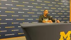 Video: Juwan Howard reacts to home loss versus Penn State