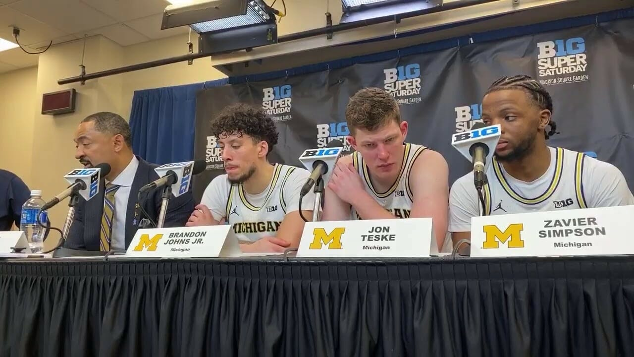 Video: Juwan Howard, Michigan players talk win over Rutgers