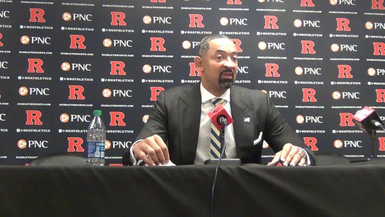 Video: Juwan Howard, Michigan players recap win at Rutgers