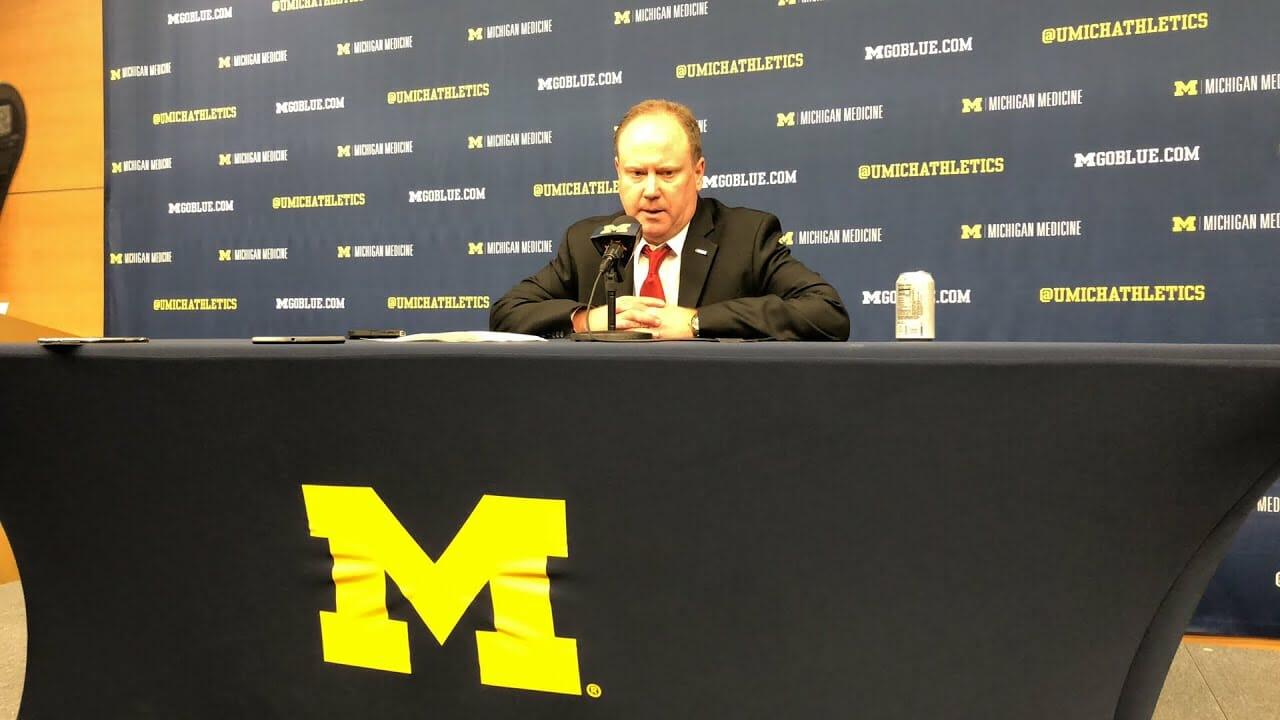 Video: Greg Gard talks win at Michigan