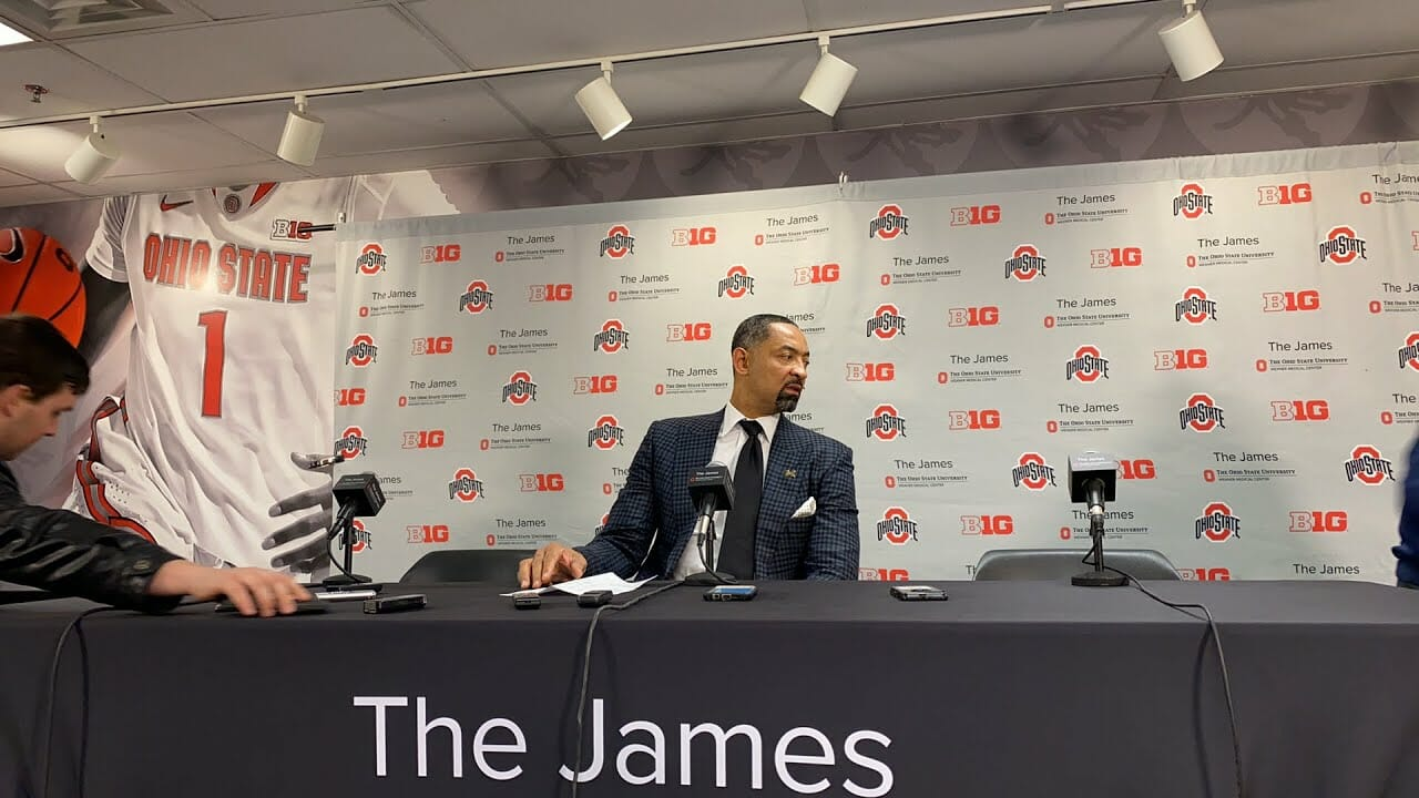 Video: Juwan Howard, Franz Wagner and Eli Brooks recap loss at Ohio State